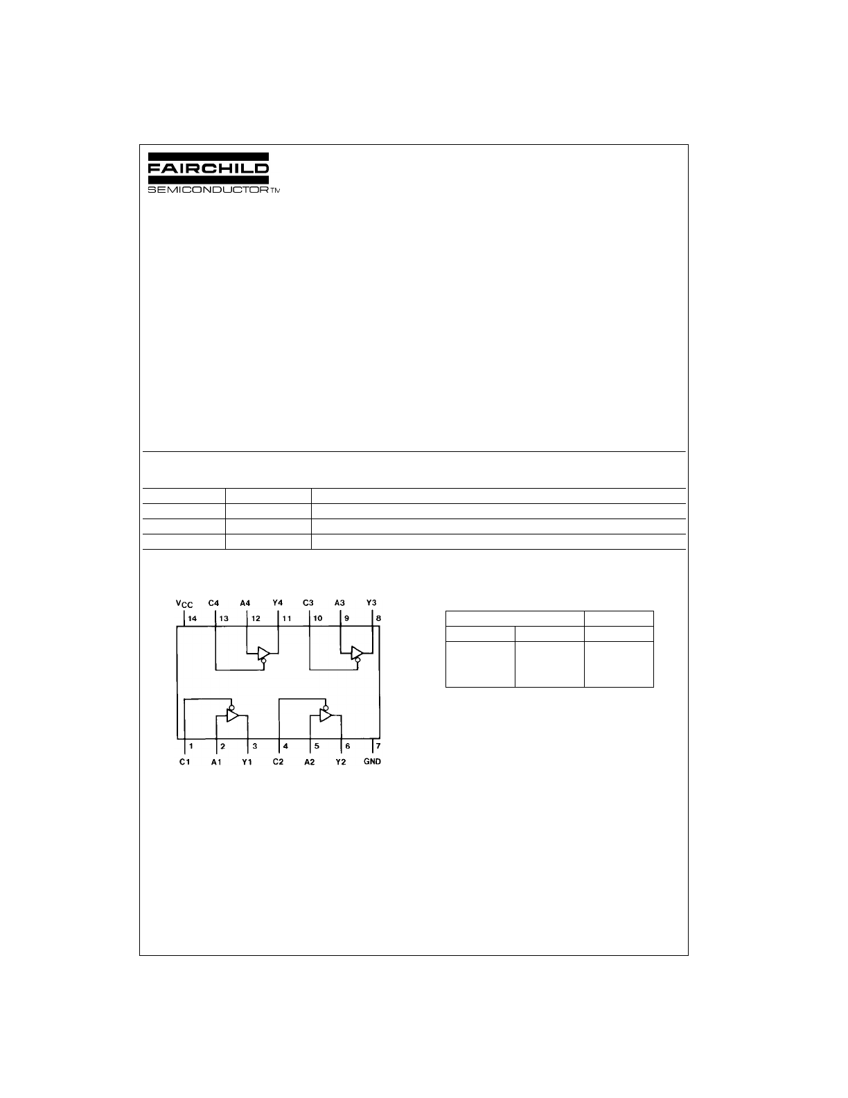 Dm74ls125a Quad 3 State Buffer Datasheet Lookup 2 Circuit Diagram Background Image